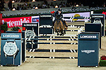 Maikel van der Vleuten of Netherlands rides VDL Groep Arera C in action at the Longines Grand Prix during the Longines Hong Kong Masters 2015 at the AsiaWorld Expo on 15 February 2015 in Hong Kong, China. Photo by Aitor Alcalde / Power Sport Images