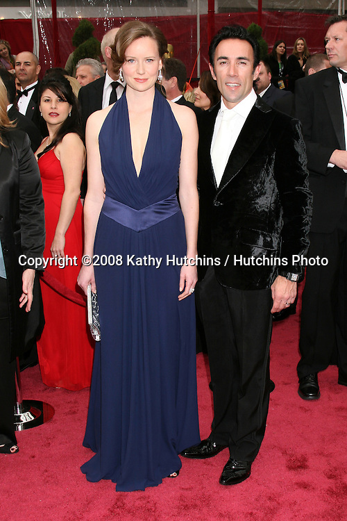 Charlotte Asprey & Francesco Quinn.80th Academy Awards ( Oscars).Kodak Theater.Los Angeles, CA.February 24, 2008.©2008 Kathy Hutchins / Hutchins Photo....