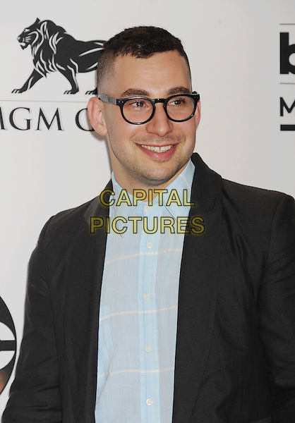 LAS VEGAS, CA- MAY 18: Musician Jack Antonoff of Bleachers poses in the press room at the 2014 Billboard Music Awards at the MGM Grand Garden Arena on May 18, 2014 in Las Vegas, Nevada.<br /> CAP/ROT/TM<br /> &copy;Tony Michaels/Roth Stock/Capital Pictures