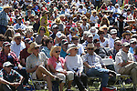 A crowd of about 1,500 wait for the start of the Inaugural Basque Fry in Gardnerville, Nev., on Saturday, Aug. 15, 2015. The event drew a handful of Republican presidential candidates. <br /> Photo by Cathleen Allison