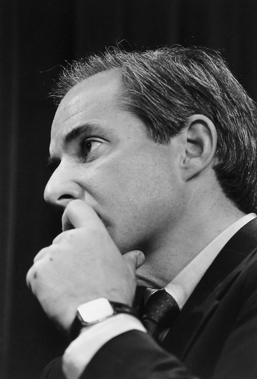 Close-up of Rep. Robert Torricelli, D-N.J., in May 1993. (Photo by Maureen Keating/CQ Roll Call)
