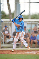 Lukas Cook (26) during the WWBA World Championship at the Roger Dean Complex on October 10, 2019 in Jupiter, Florida.  Lukas Cook attends Hardin Valley High School in Knoxville, TN and is committed to South Carolina.  (Mike Janes/Four Seam Images)