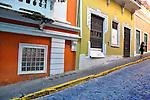 Hill climber, Old San Juan, Puerto Rico