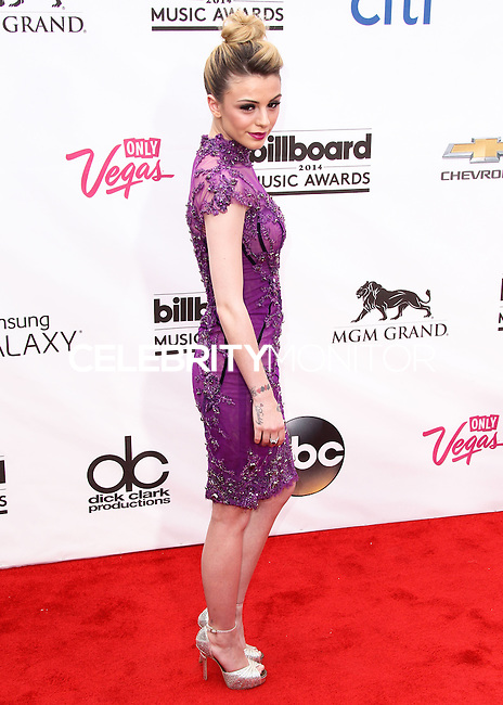 LAS VEGAS, NV, USA - MAY 18: Cher Lloyd at the Billboard Music Awards 2014 held at the MGM Grand Garden Arena on May 18, 2014 in Las Vegas, Nevada, United States. (Photo by Xavier Collin/Celebrity Monitor)