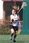 Santa Barbara, CA 02/13/10 - Bernadette Vingerhoets (Texas #12) in action during the Texas-Oregon game at the 2010 Santa Barbara Shoutout, Texas defeated Oregon 11-9.