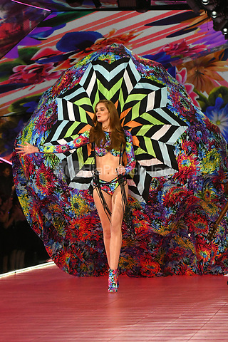 NEW YORK, NY - NOVEMBER 08: Alexina Graham at the 2018 Victoria's Secret Fashion Show at Pier 94 on November 8, 2018 in New York City. Credit: John Palmer/MediaPunch