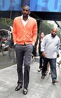 NEW YORK, NY - SEPTEMBER 6, 2012: Amare Stoudemire at Good Day New York in New York City. September 6, 2012. © RW/MediaPunch Inc. /NortePhoto.com<br /> <br /> **CREDITO*OBLIGATORIO** *No*Venta*A*Terceros*<br /> *No*Sale*So*third* ***No*Se*Permite*Hacer...<br /> more »