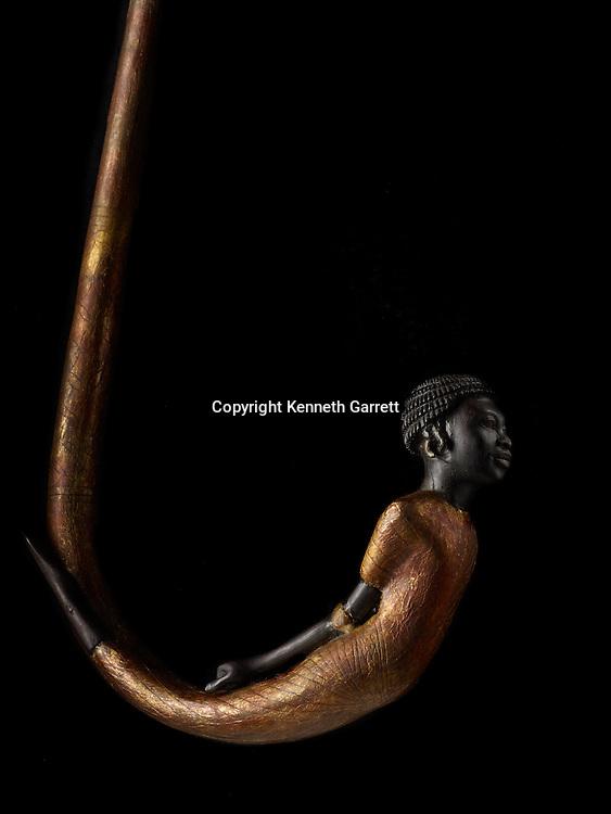 mm7864; 18th Dynasty; New Kingdom; Egypt; The Egyptian Museum; Cairo; KV62, Kung Tut, Tutankhamun, Cane, Walking Stick, Nubian