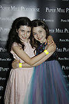 Isabella Jolene Burke & Giada Blume - Paper Mill Playhouse presents the world premiere of the the new musical Ever After on May 31, 2015 with curtain call followed by gala at Charlie Bowns in Millburn, New Jersey (Photos by Sue Coflin/Max Photos)