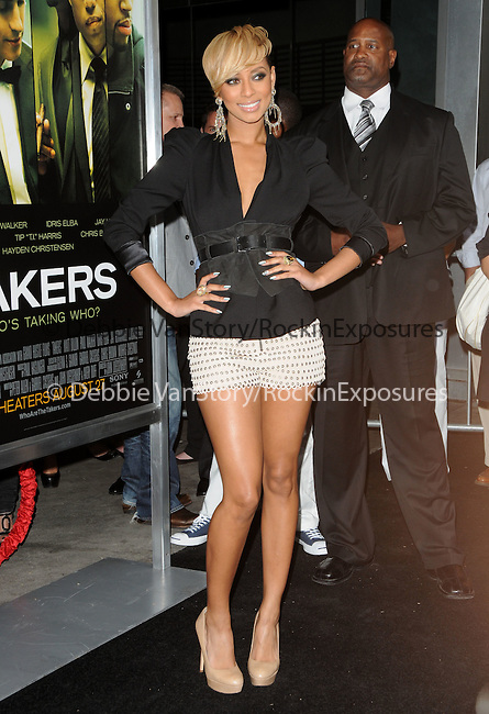 Keri Hilson at the Screen Gems' World Premiere of Takers held at The Arclight Theatre in Hollywood, California on August 04,2010                                                                               © 2010 Debbie VanStory / Hollywood Press Agency