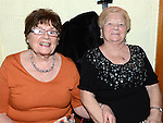 Betty Keogh and Sarah Lawlor pictured at the Ceilí and set dancing weekend at An Grianán. Photo:Colin Bell/pressphotos.ie