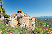 The church of Saint Nikolaos in Mystras, Greece