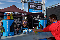 Harrison, NJ - Friday Sept. 01, 2017: Powerade prior to a 2017 FIFA World Cup Qualifier between the United States (USA) and Costa Rica (CRC) at Red Bull Arena.