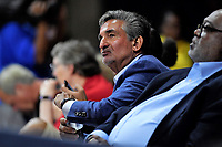Washington, DC - June 1, 2019: Wizards and Washington Mystics owner Ted Leonis looks on during game between Atlanta Dream and Washington Mystics at the St. Elizabeths East Entertainment and Sports Arena (Photo by Phil Peters/Media Images International)