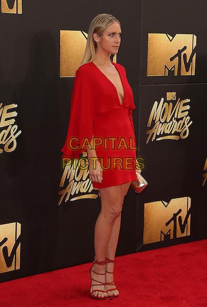 09 April 2016 - Burbank, California - Brittany Snow. 2016 MTV Movie Awards held at Warner Bros. Studios. <br /> CAP/ADM/SAM<br /> &copy;SAM/ADM/Capital Pictures