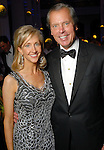 Tricia and David Dewhurst at the Houston Symphony's opening night gala dinner at The Corinthian Saturday Sept. 12, 2009. (Dave Rossman/For the Chronicle)