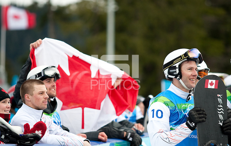 Vancouver, British Columbia, Canada--Men's Snowboard Cross, Cypress Mountain, Vancouver, Canada.
