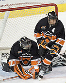 The Princeton University Tigers defeated the University of Denver Pioneers 4-1 in their first game of the Denver Cup on Friday, December 30, 2005 at Magness Arena in Denver, CO.