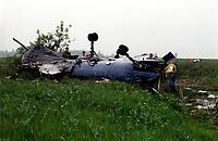 FILE - Ecrasement d'avion a Mirabel<br />  dans les annees 90  (date inconnue)<br /> <br /> <br /> PHOTO  :  Agence Quebec Presse