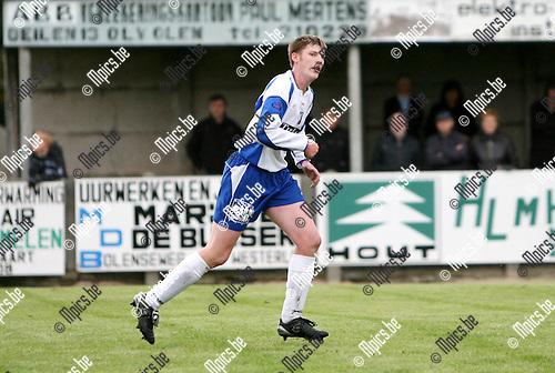 2009-10-11 / Seizoen 2009-2010 / Voetbal / SKS Herentals / Gunther Sels..Foto: Maarten Straetemans (SMB)