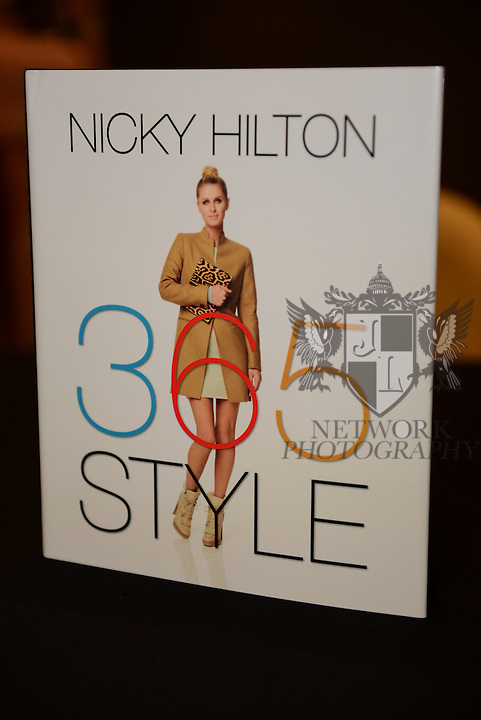 MIAMI BEACH, FL - NOVEMBER 06: Genral view book on display during Nicky Hilton signing copies of her book '365 Style' at The Webster on Thursday November 6, 2014 in Miami Beach, Florida (Photo by Johnny Louis/jlnphotography.com)