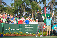 Adam Scott (AUS) watches his tee shot on 10 during round 1 of The Players Championship, TPC Sawgrass, at Ponte Vedra, Florida, USA. 5/10/2018.<br /> Picture: Golffile | Ken Murray<br /> <br /> <br /> All photo usage must carry mandatory copyright credit (&copy; Golffile | Ken Murray)