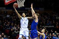GRONINGEN - Basketbal, Donar - Den Helder, Dutch Basketbal League, seizoen 2019-2020, 09-02-2020,  score /Donar speler Leon Williams