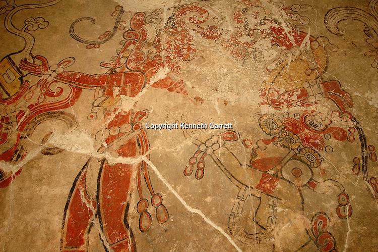 Maya; Maya Murals; San Bartolo; Guatemala; Dr. Bill Saturno