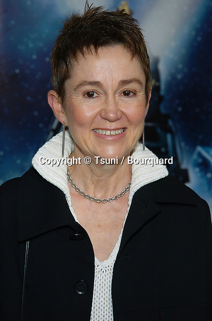 The dean of USC School of  Cinema-Television Elizabeth Daly arriving at the Polar Express Premiere at The Grauman Chinese Theatre in Los Angeles. 11/07/2004.
