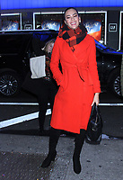 NEW YORK, NY- January 07: Miss Universe Catriona Gray seen at Good Morning America in New York City on January 07, 2019. <br /> CAP/MPI/RW<br /> &copy;RW/MPI/Capital Pictures