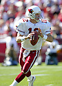 Josh McCown during the Cardinals v. 49ers game on October 10, 2004...49ers win 31-28..Rob Holt / SportPics