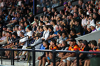 Fans during the Pro League Hockey match between the Blacksticks women and Argentina, Nga Punawai, Christchurch, New Zealand, Friday 28 February 2020. Photo: Simon Watts/www.bwmedia.co.nz
