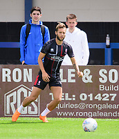 Lincoln City's Jorge Grant during the pre-match warm-up<br /> <br /> Photographer Chris Vaughan/CameraSport<br /> <br /> Football Pre-Season Friendly (Community Festival of Lincolnshire) - Gainsborough Trinity v Lincoln City - Saturday 6th July 2019 - The Martin & Co Arena - Gainsborough<br /> <br /> World Copyright © 2018 CameraSport. All rights reserved. 43 Linden Ave. Countesthorpe. Leicester. England. LE8 5PG - Tel: +44 (0) 116 277 4147 - admin@camerasport.com - www.camerasport.com