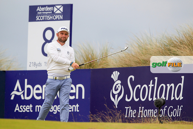 Andy Sullivan (ENG) during round 3 of the Aberdeen Asset Management Scottish Open 2016, Castle Stuart  Golf links, Inverness, Scotland. 09/07/2016.<br /> Picture Fran Caffrey / Golffile.ie<br /> <br /> All photo usage must carry mandatory copyright credit (&copy; Golffile | Fran Caffrey)