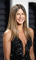 www.acepixs.com<br /> <br /> February 26 2017, LA<br /> <br /> Jennifer Ansiton arriving at the Vanity Fair Oscar Party at the Wallis Annenberg Center for the Performing Arts on February 26 2017 in Beverly Hills, Los Angeles<br /> <br /> By Line: Famous/ACE Pictures<br /> <br /> <br /> ACE Pictures Inc<br /> Tel: 6467670430<br /> Email: info@acepixs.com<br /> www.acepixs.com