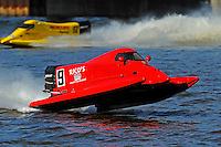 Johnny Fleming (#9) & Chris Fairchild (#62) SST-120 class.Bay City River Roar, Bay City,Michigan USA.26-2821 June, 2009..©F. Peirce Williams 2009 USA.F.Peirce Williams.photography.ref: RAW (.NEF) File Available