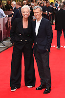 "Emma Thompson and Producer Duncan Kenworthy<br /> arriving for the premiere of ""The Children Act"" at the Curzon Mayfair, London<br /> <br /> ©Ash Knotek  D3420  16/08/2018"