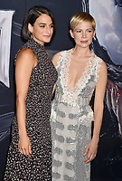 WESTWOOD, CA - OCTOBER 01: Jenny Slate, Michelle Williams attends the Premiere Of Columbia Pictures' 'Venom' at Regency Village Theatre on October 1, 2018 in Westwood, California.<br /> CAP/ROT/TM<br /> ©TM/ROT/Capital Pictures
