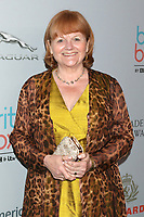 LOS ANGELES - OCT 25:  Lesley Nicol at the 2019 British Academy Britannia Awards at the Beverly Hilton Hotel on October 25, 2019 in Beverly Hills, CA