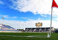 BOCA RATON, FL - DECEMBER 15, 2012: FAU stadium before  an international friendly match  between the USA WNT and China WNT at FAU Stadium, in Boca Raton, Florida, on Saturday, December 15, 2012.