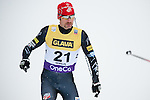 HOLMENKOLLEN, OSLO, NORWAY - March 16: Bryan Fletcher of USA during the cross country 15 km (2 x 7.5 km) competition at the FIS Nordic Combined World Cup on March 16, 2013 in Oslo, Norway. (Photo by Dirk Markgraf)