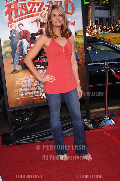 Actress COURTNEY HANSEN at the Los Angeles premiere of The Dukes of Hazzard..July 28, 2005 Los Angeles, CA.© 2005 Paul Smith / Featureflash