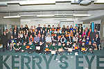AWARDS: Students from school from the Munster area who were presented with their Kerry Education Service Students Award in the ITT North Campus on Friday evening. With their teachers and mentors and family.....