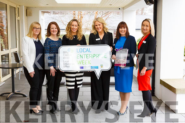 Attending the Employment Law & BeSmart.ie Seminar 2018 run by the Kerry Local Enterprise Office and HR Suite in the Ballygarry House Hotel on Monday last. L-r, Lisa O'Carroll (Kerry Local Enterprise Office), Helen Hourihan (Health and Safety Office), Fiona Leahy (Kerry Local Enterprise Office), Mary Stapleton-Foley (The HR Suite), Caroline McEnery (The HR Suite) and Jo O'Dwyer (The HR Suite).