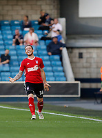 GOAL - Ipswich Town's Joe Garner makes it 1-1 during the Sky Bet Championship match between Millwall and Ipswich Town at The Den, London, England on 15 August 2017. Photo by Carlton Myrie.