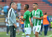 MEDELLÍN - COLOMBIA ,07-04-2019:Paulo Autuori de Mello director técnico del Atlético Nacional contra  Alianza Petrolera   durante partido por la fecha 14 de la Liga Águila I 2019 jugado en el estadio Atanasio Girardot de la ciudad de Medellín. /Paulo Autuori de Mello coach of Atletico Nacional agaisnt of Alianza Petrolera  during the match for the date 14 of the Liga Aguila I 2019 played at the Atanasio Girardot  Stadium in Medellin  city. Photo: VizzorImage / León Monsalve / Contribuidor.