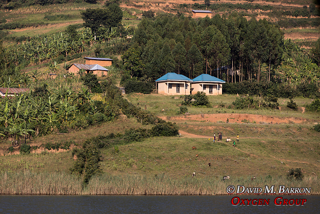 Village Along Lake Bunyonyi