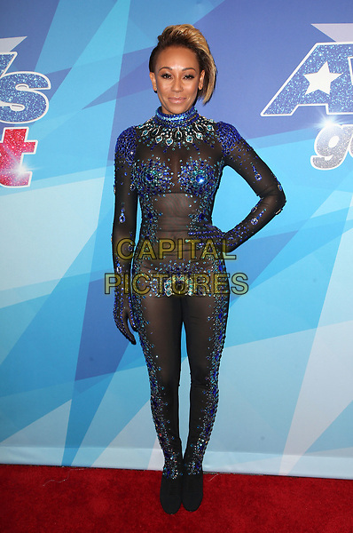 16 August 2017 - Hollywood, California - Melanie Brown, Mel B. NBC &quot;America's Got Talent&quot; Season 12 Live Show held at the Dolby Theatre. <br /> CAP/ADM/FS<br /> &copy;FS/ADM/Capital Pictures