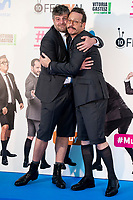 Raul Cimas and Joaquin Reyes attends to presentation of new comedian schedule of #0 during FestVal in Vitoria, Spain. September 06, 2018. (ALTERPHOTOS/Borja B.Hojas) /NortePhoto.com NORTEPHOTOMEXICO