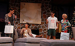 """As The World Turns' Colleen Zenk stars along with the cast - Davy Raphaely, Peggy J. Scott and Brenda Withers in """"Other Desert Cities"""" at the tech rehearsal (in costume) on October 14, 2015 at Whippoorwill Halll Theatre, North Castle Library, Kent Place, Armonk, New York.  (Photo by Sue Coflin/Max Photos)"""